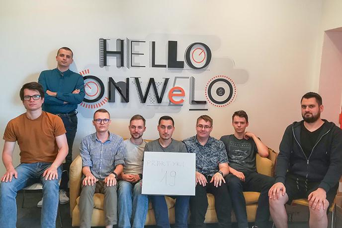 Stażyści w kieleckim oddziale Onwelo