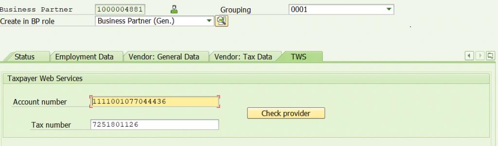 Weryfikacja numeru NIP względem rejestru VAT