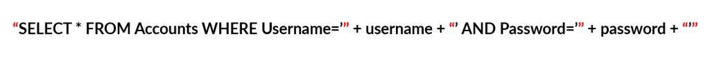 SQL Injection – zapytanie 1