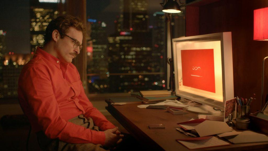 "Kadr z filmu ""Her"""
